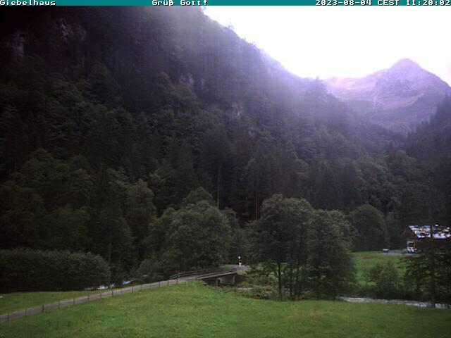 Webcam Ski Resort Bad Hindelang - Oberjoch Prinz Luitpod Haus - Bavaria Alps - Allg�u