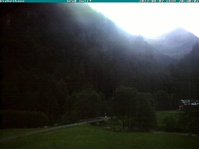 Webcam Skigebied Bad Hindelang - Oberjoch Prinz Luitpod Haus - Allgäuer Alpen
