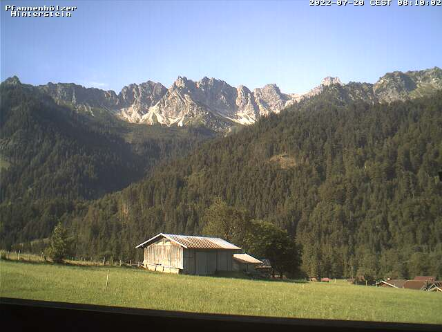 Webcam Standort Hinterstein Ortsende