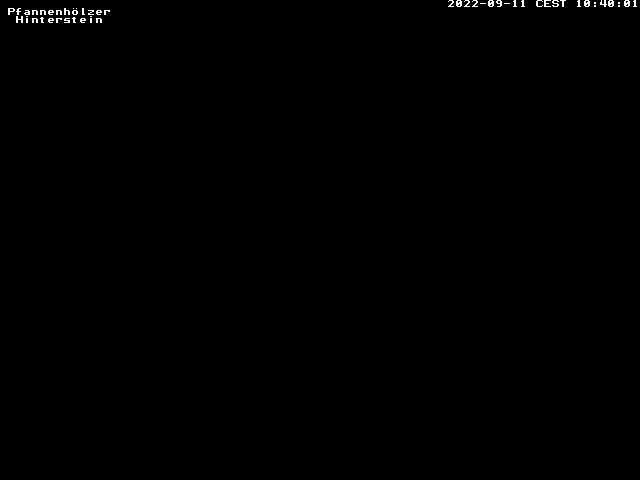 Webcam Skigebied Bad Hindelang - Oberjoch Pfannenhölzer - Allgäuer Alpen
